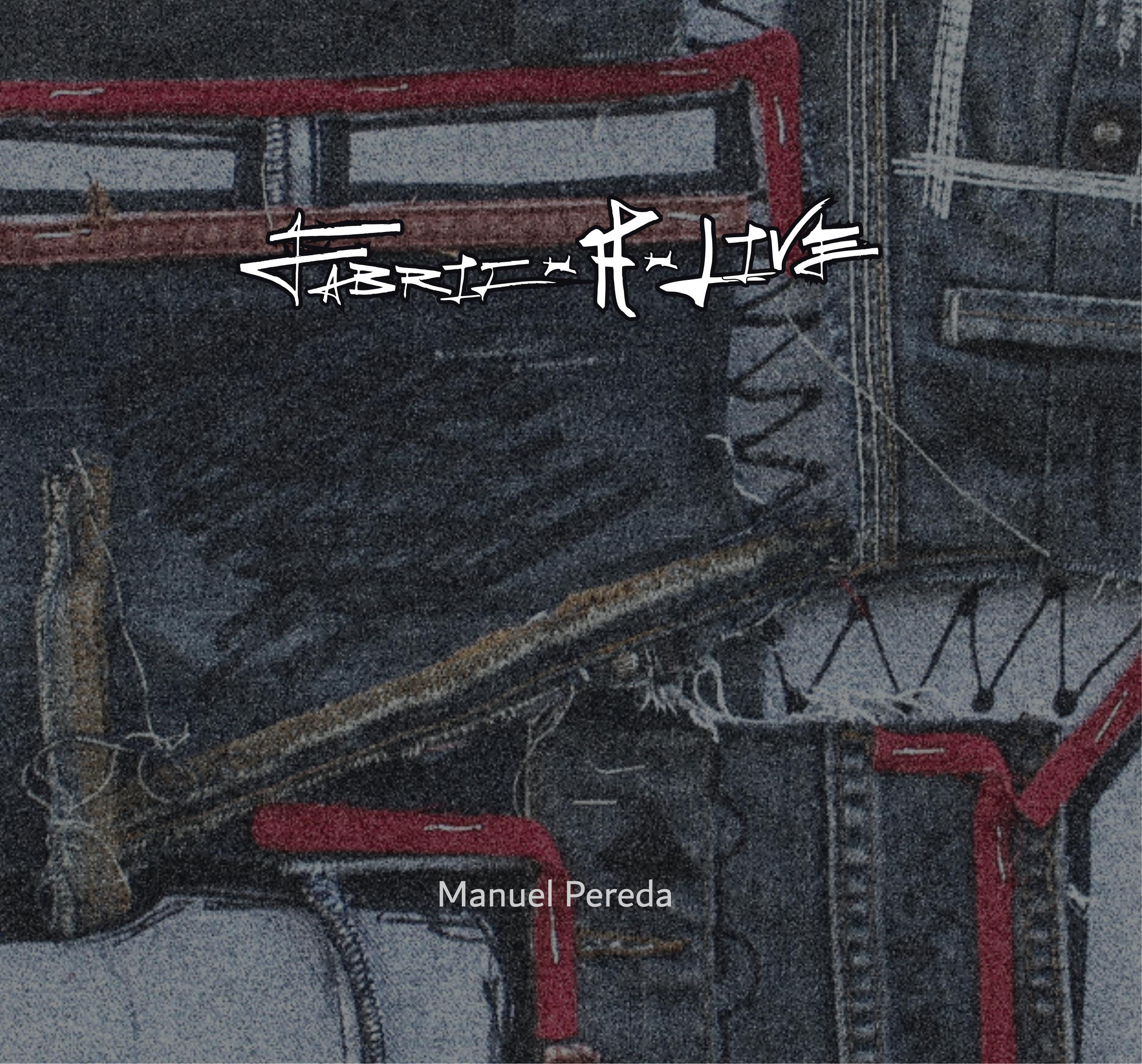 Manuel Pereda, Portada del libro de arte Fabric-A-live